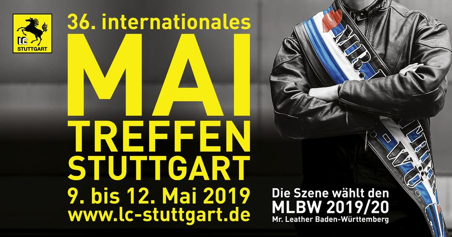 LC Stuttgart e.V. - May Meeting 2019 with election of Mr. Leather Baden-Wuerttemberg 2019/20